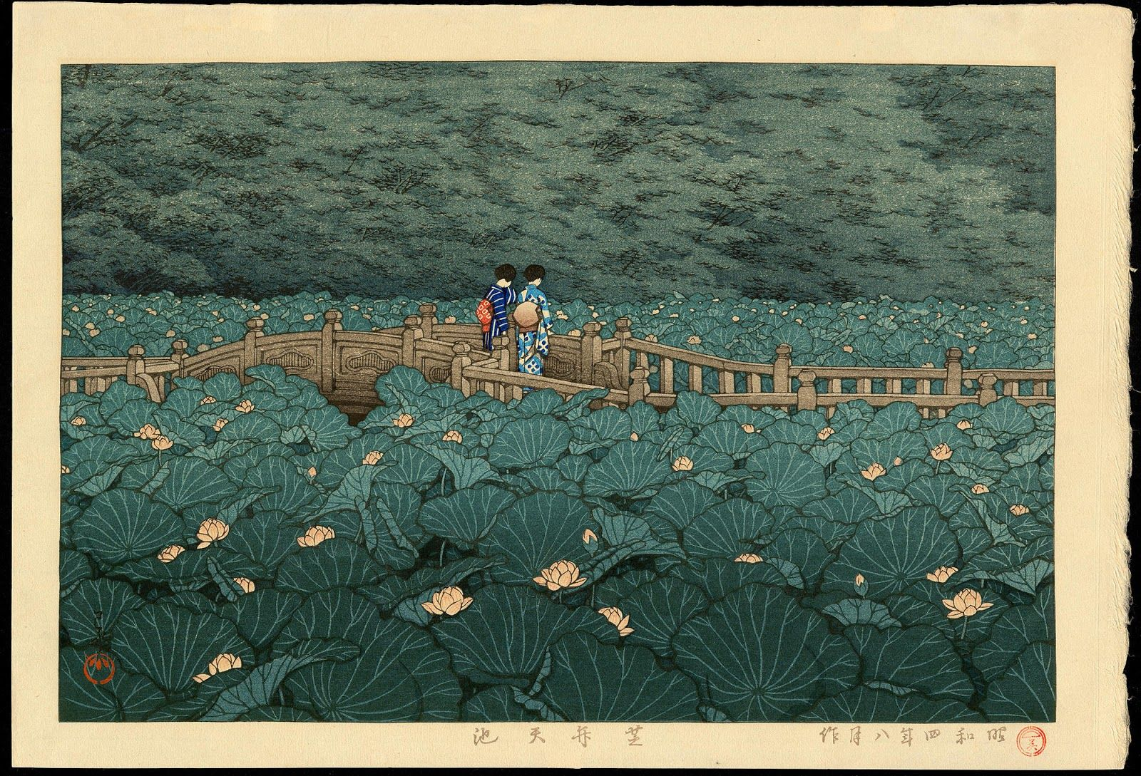 Muddy Colors: Artist of the Month: Kawase Hasui