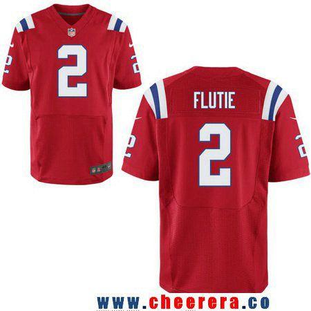 men s new england patriots 2 doug flutie retired red stitched nfl rh pinterest com Doug Flutie Drop Kick Doug Flutie Patriots
