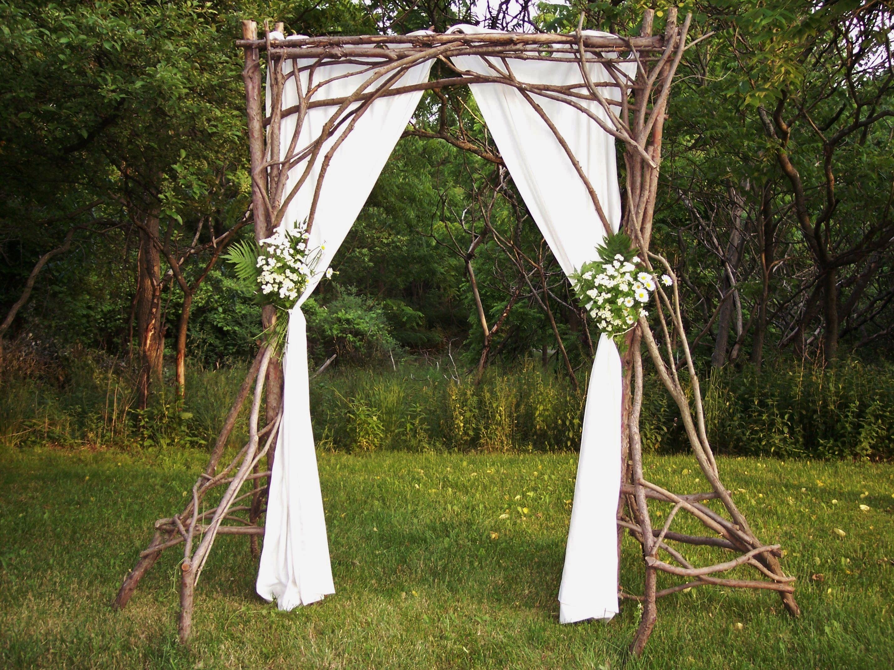 Rustic Wedding Arch By Frank Leahy