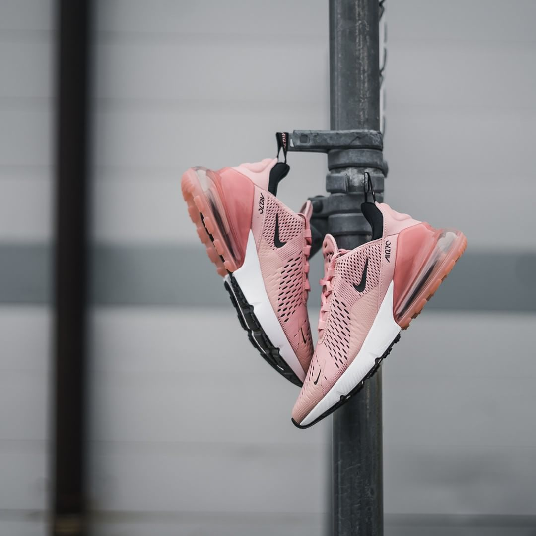 Buy Nike's Air Max 270 in Pink Coral Stardust | HYPEBAE