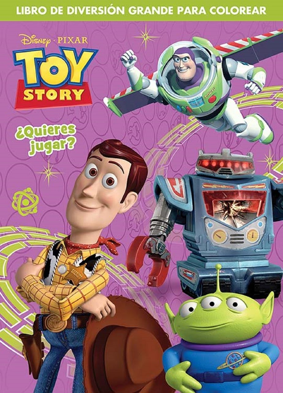 646e40f2d963d Partytoyz Inc. - Toy Story Spanish 96 pg. Coloring Book -
