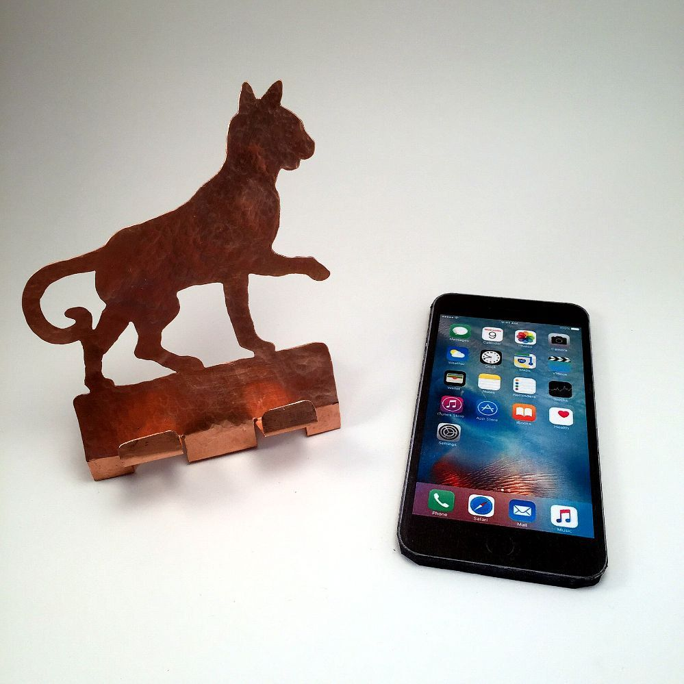 Cat Cell Phone Holder, Cell Phone Stand, Cat Cell Phone Charger ...
