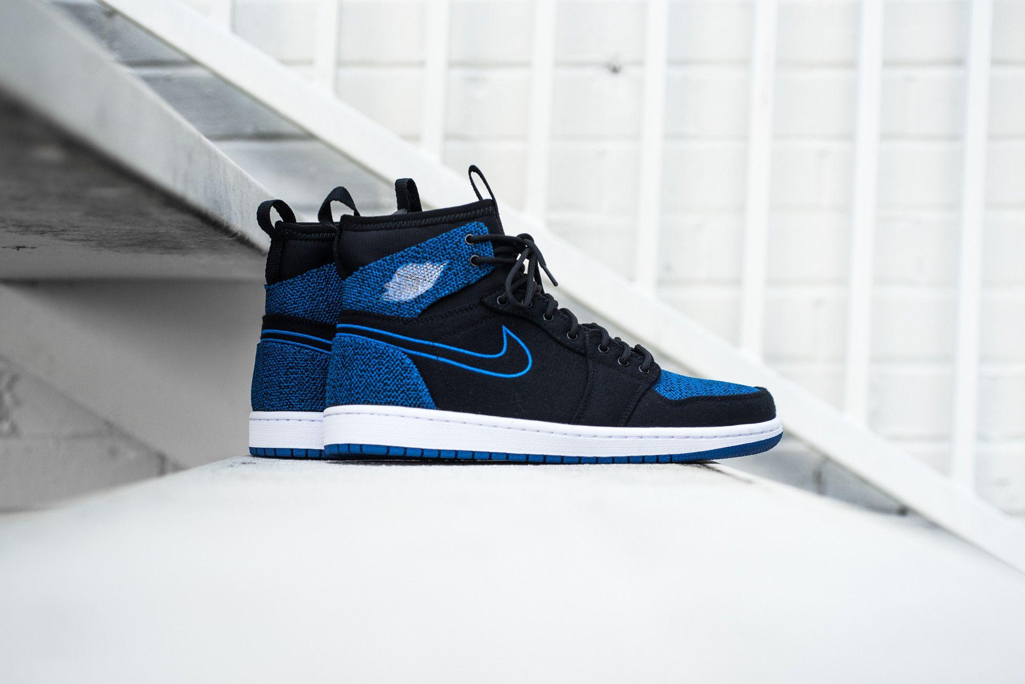 b8cc0f9fdb8a Air Jordan 1 Retro Ultra High - Black Royal from Sneaker Politics ...