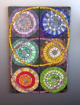 six sevenths -glass mosaic