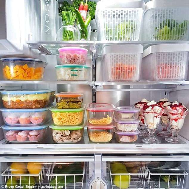 Homeowner shares trick to give you more storage space in the fridge is part of Fridge Organization Inside Refrigerator - Organising your fridge can be tricky  Here, a homeowner has come up with a simple but clever trick to help you make the most of space  and all you need is chopsticks