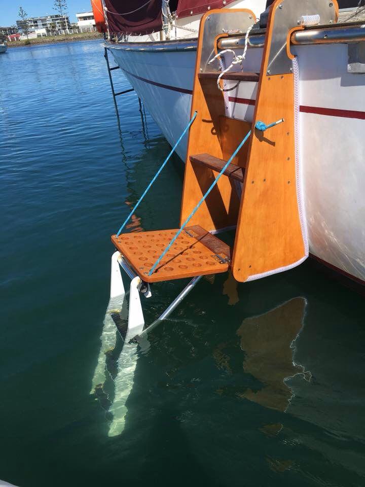 Boarding Ladder Idea Morgan 36 Oi In 2019 Sailboat Living
