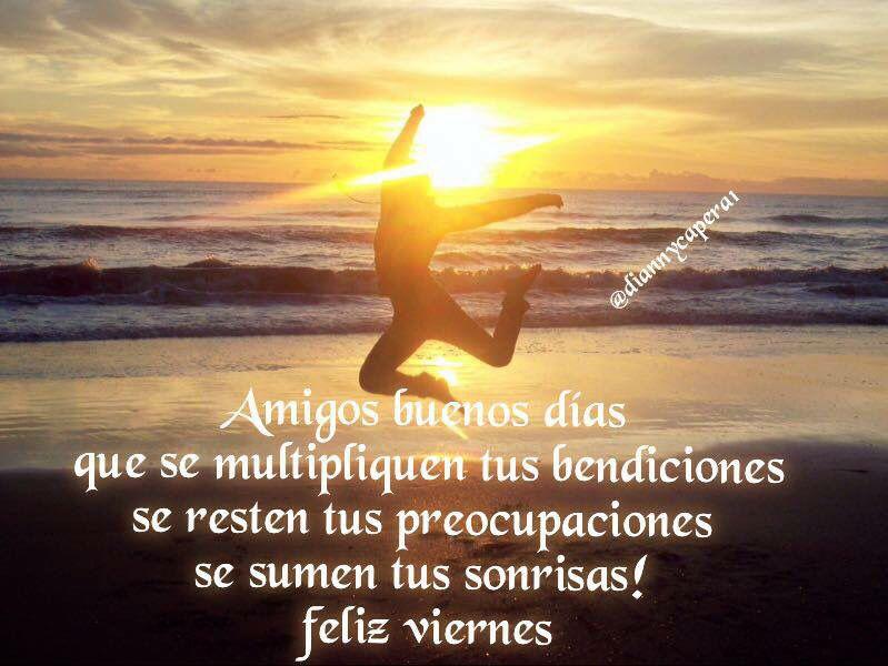 """""""Que se multipliquen tus bendiciones  Se resten tus preocupaciones  Se sumen tus alegrias""""!! Feliz #dia #amigos!!!"""