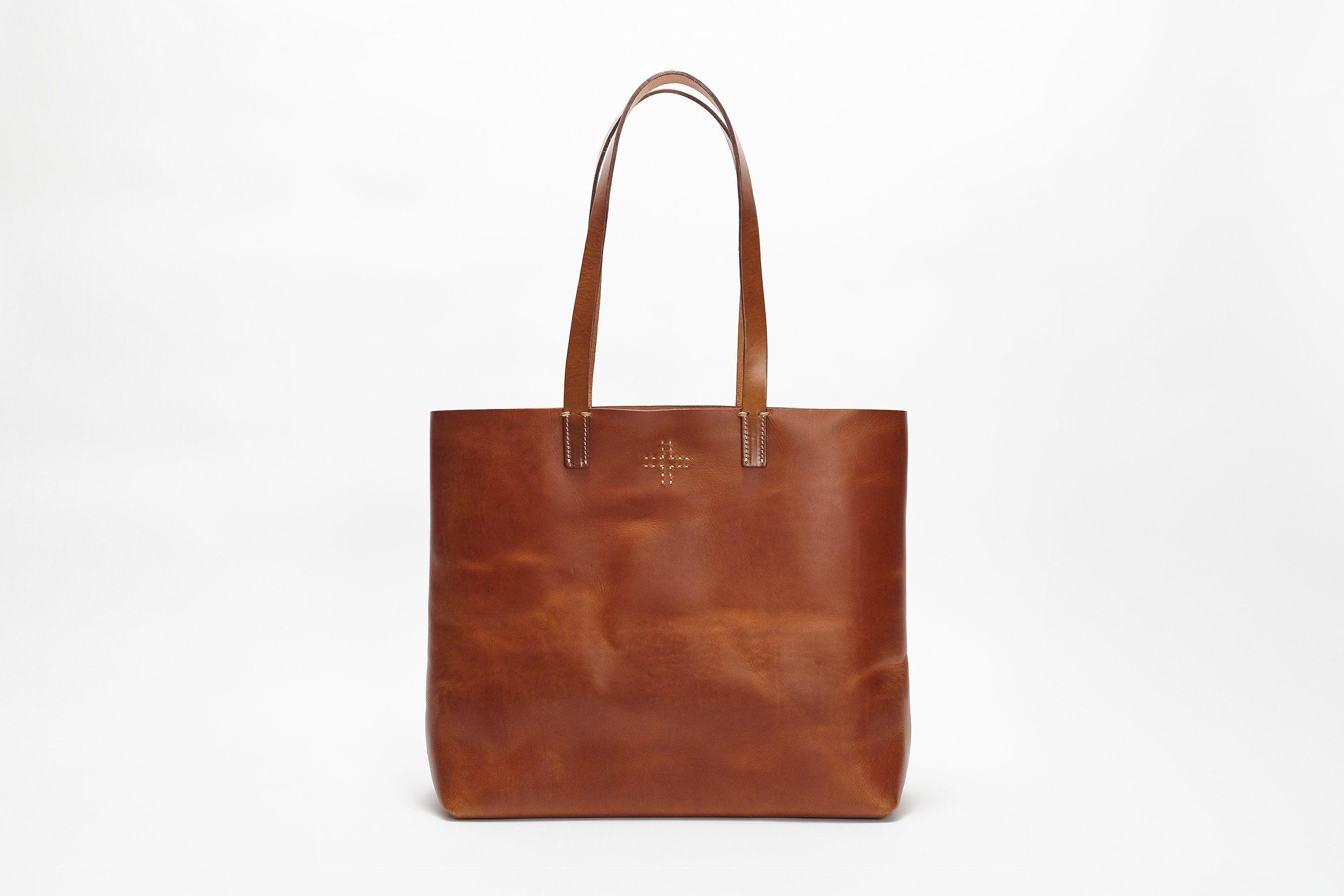 86ac9c43777f3 Vintage Tote Bag - Tan