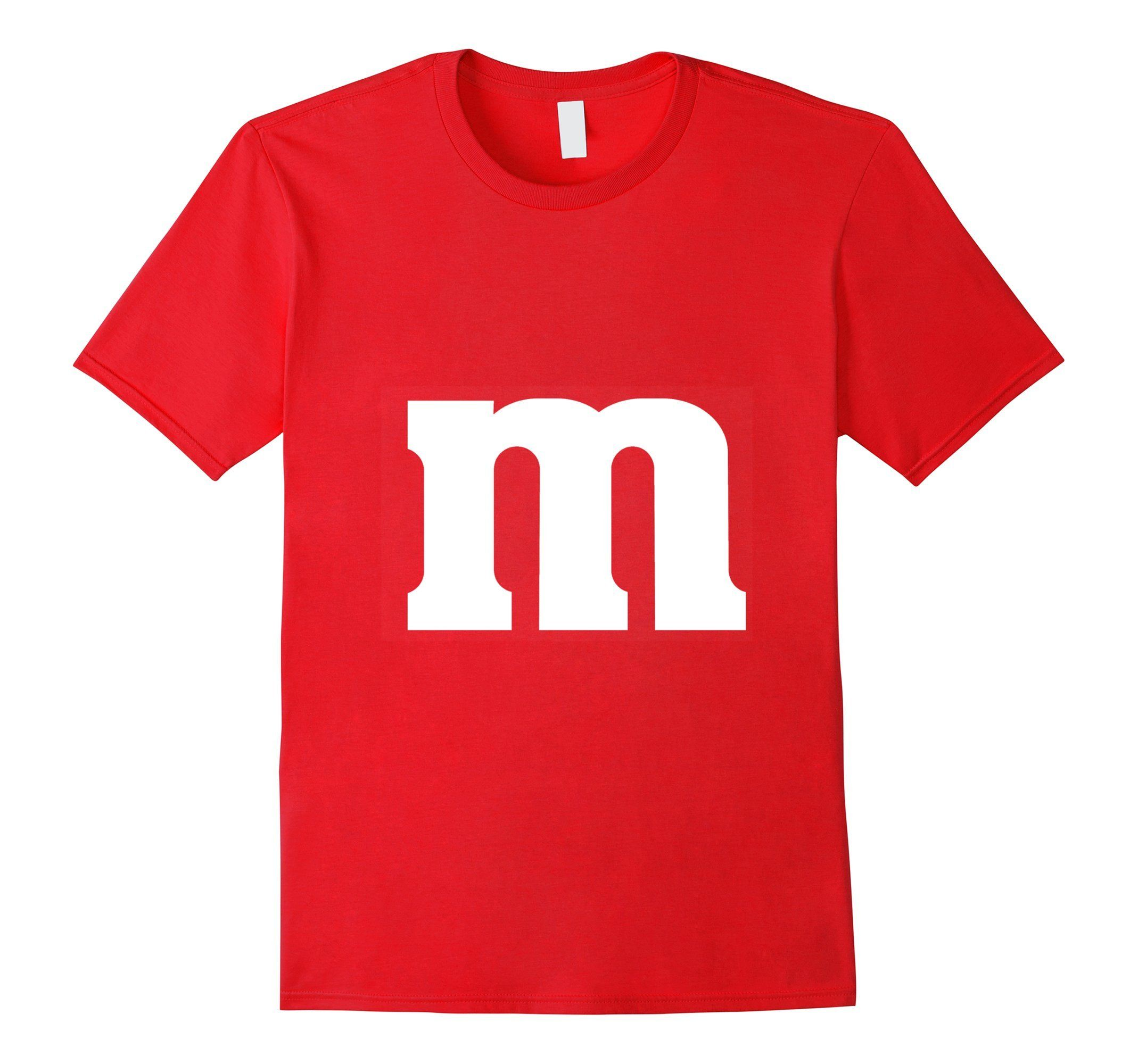 Halloween Tshirt M&M Candy Costume Clothing