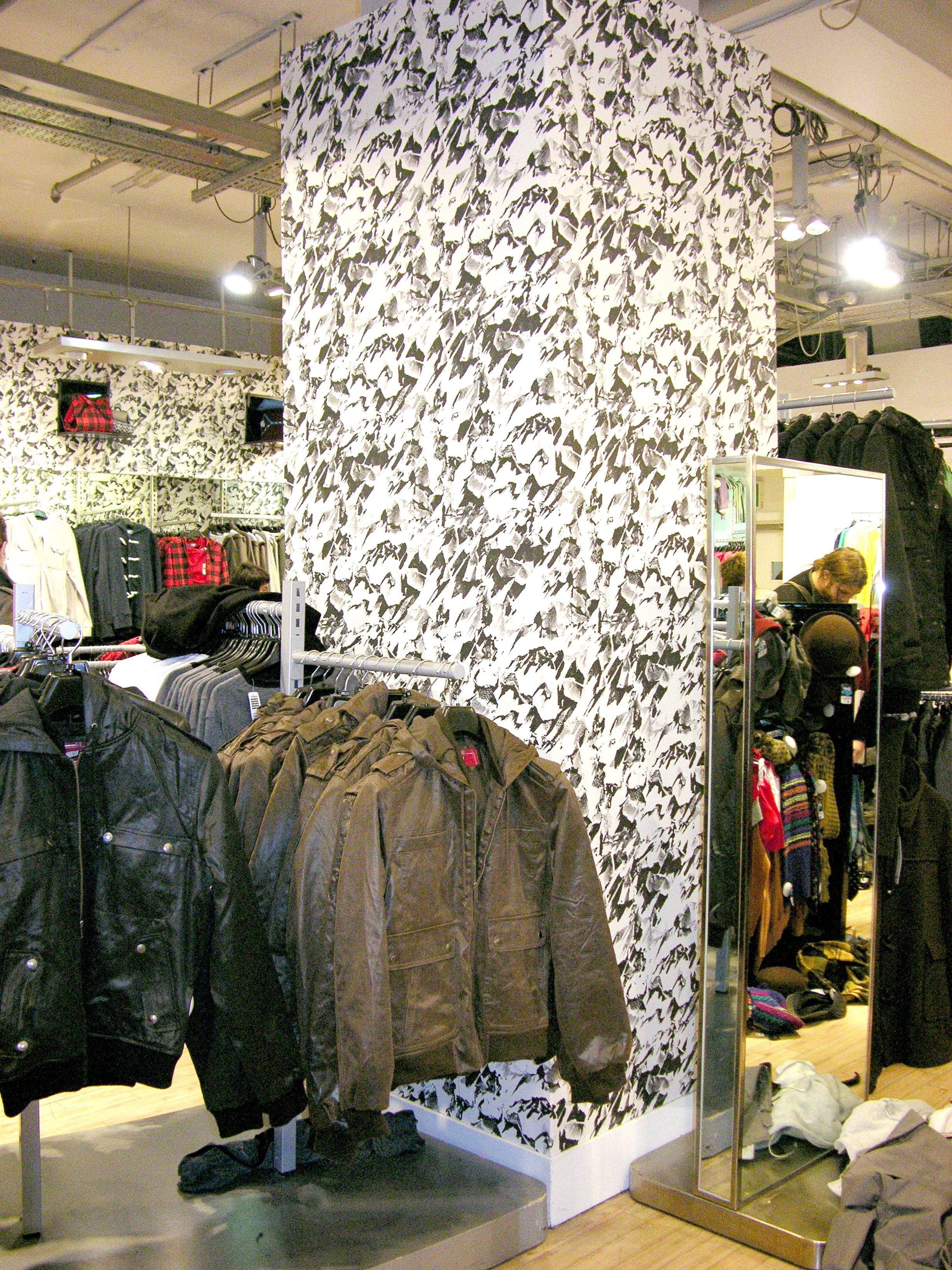 Topman Flagship Store, London. Desert - Black White.