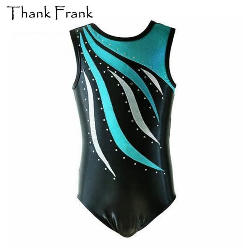 94d2cbe3d102 Children Gymnastics Leotard For Girls Sleeveless Ballet Leotards ...