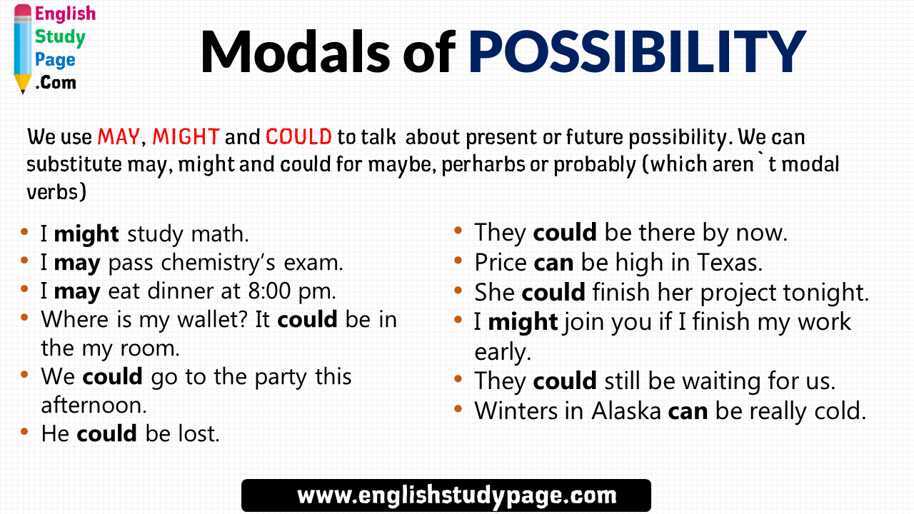 Pin On Modals In English