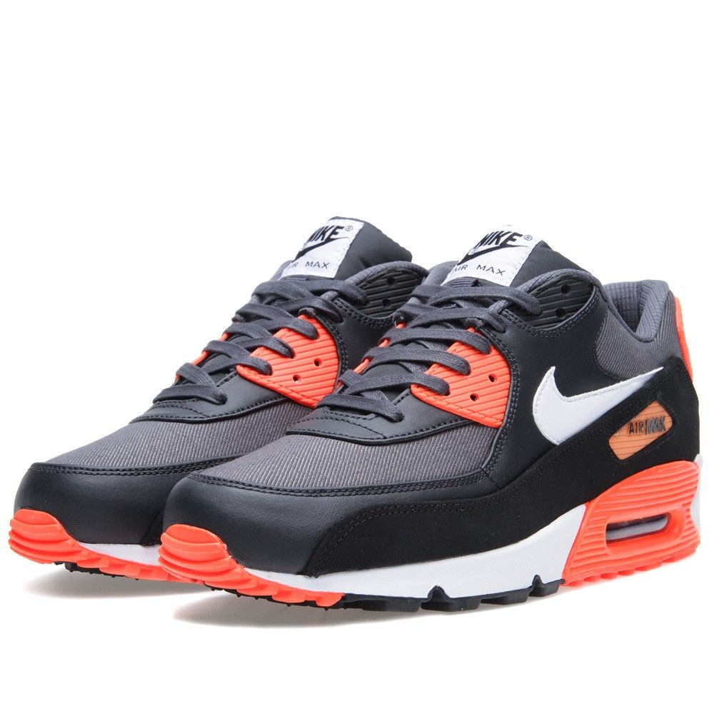 nike air max orange black