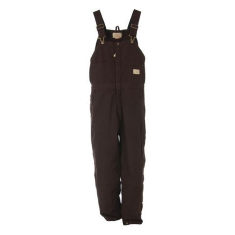 c e schmidt ladies sanded washed duck quilt lined on womens insulated bib overalls id=38568