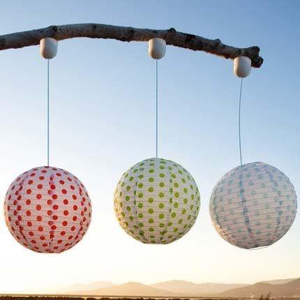 Tr¨s jolies ces boules japonaises Lampes & lanternes