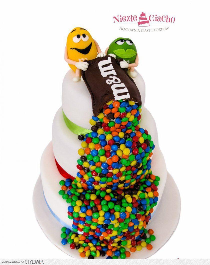 Mms Słodycze Tort Z Mms Torty Dla Dzieci Tort