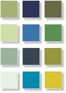 Zen color palette by The Color Association