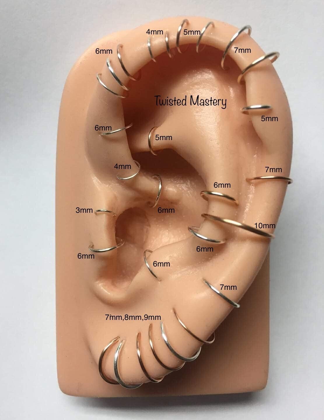 Ear Piercing Diagram Wiring Diagrams Structure