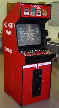 Samurai Shodown arcade cabinet. This thing took so many quarters ...