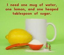 Simple homemade lemonade