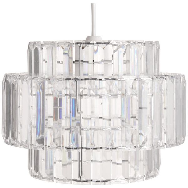 Wilko audrey pendant clear 30 ❤ liked on polyvore featuring home lighting