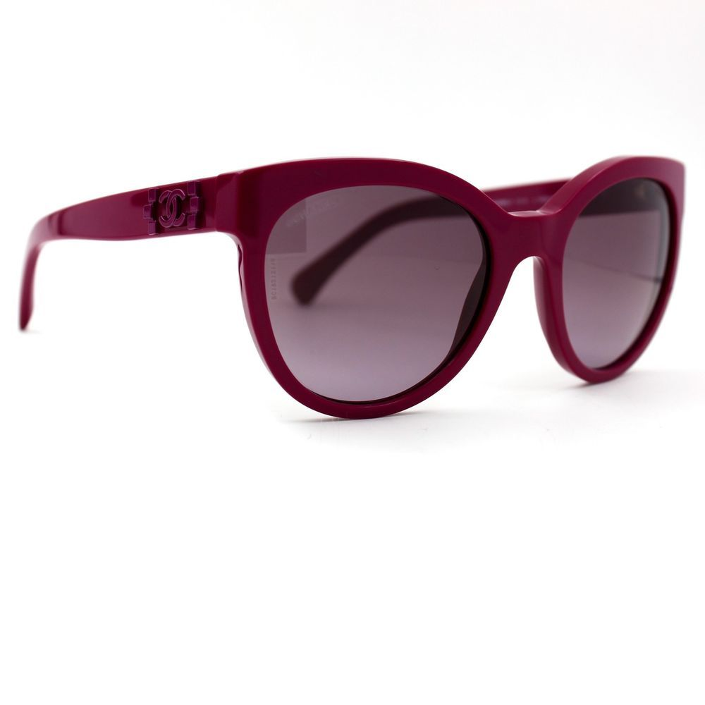 3fd4552556d CHANEL Sunglasses Purple Pantos Signature Frame with Purple Gradient Lenses  5315  CHANEL  CatEye