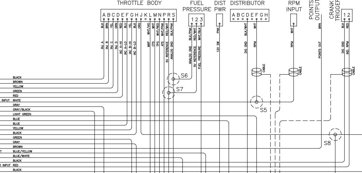 EZEFI Pinout WiringDiagram | EZ EFI 20 to run a RamJet