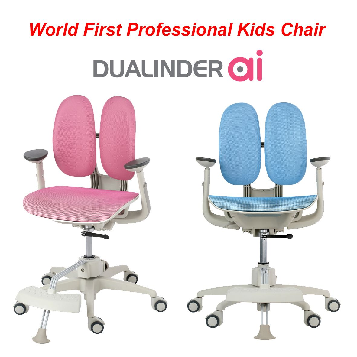 World S First Professional Ergonomic Chair For Kids
