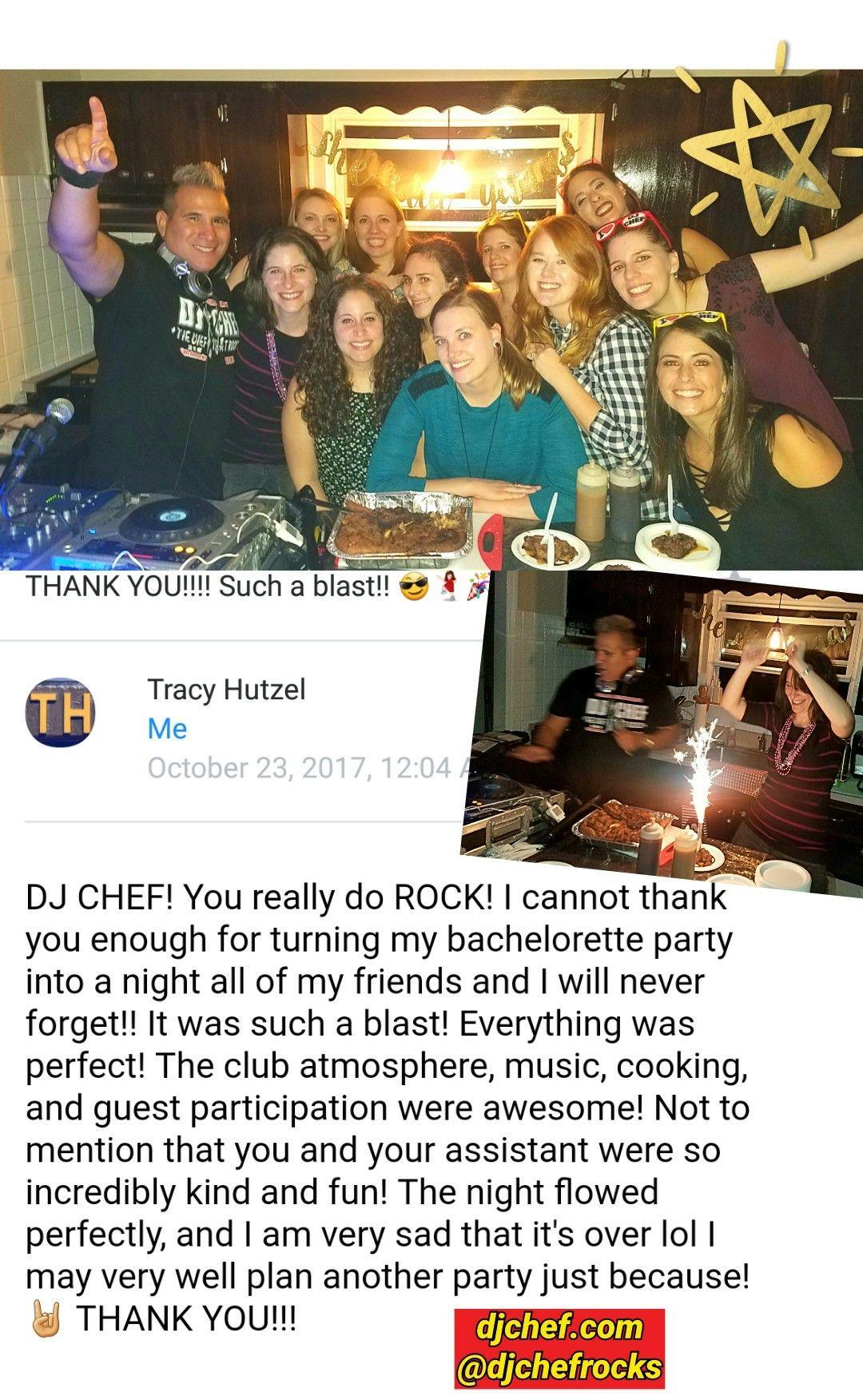 Dj Chef Bachelorette Party Hamptons Cooking Cl Long Island Montauk Nj New Jersey Bride Wedding Ideas