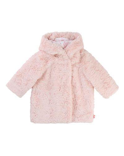 87324a3c72a2 Billieblush Faux-Fur Hooded Coat