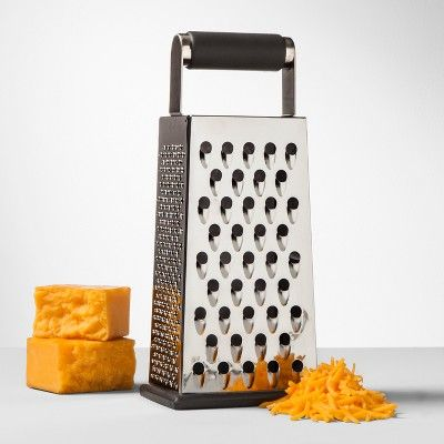 Stainless Steel Box Grater - Made By Design , Silver