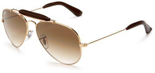 1383c4a1ca9 Ray-Ban RB3422Q Craft Outdoorsman II Aviator Sunglasses 55 mm