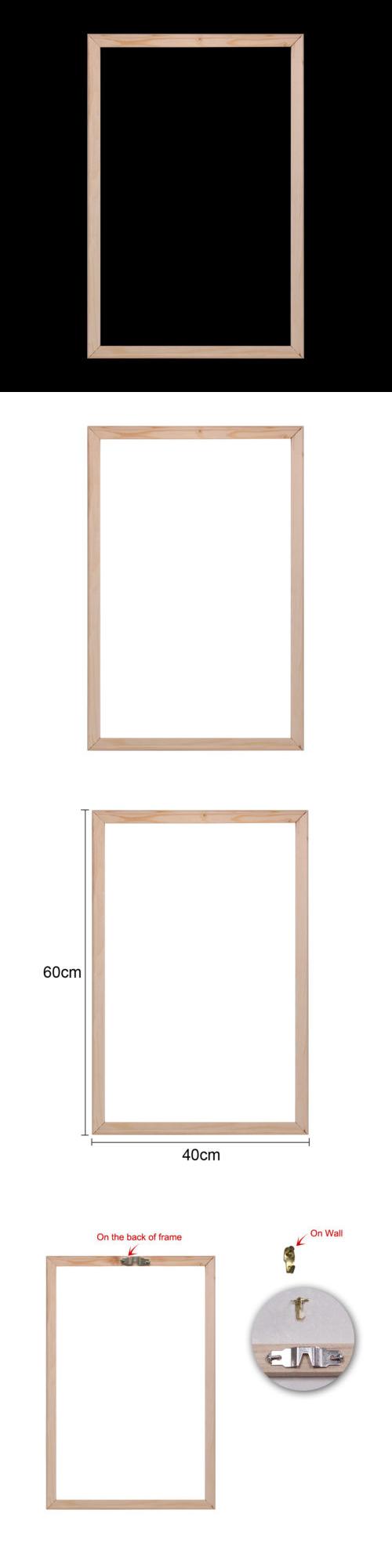 Frames and Supplies 37575: Wood Frame Art Canvas Stretcher Bars ...