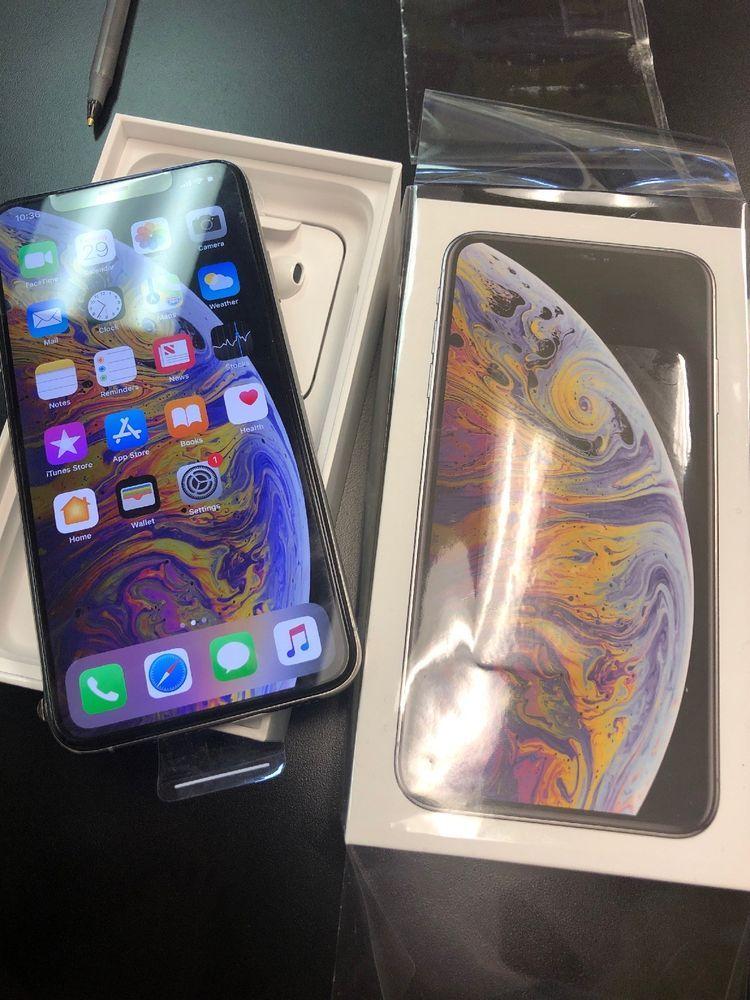 Apple Iphone Xs Max 512gb Silver Verizon Cattier Unlocked A1921 New Open Iphone Xs Iphonexs Apple Iphone Apple Products Apple Accessories