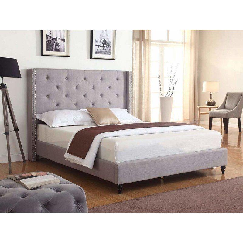 Best Mercer41 Boswell Upholstered Platform Bed Reviews 400 x 300