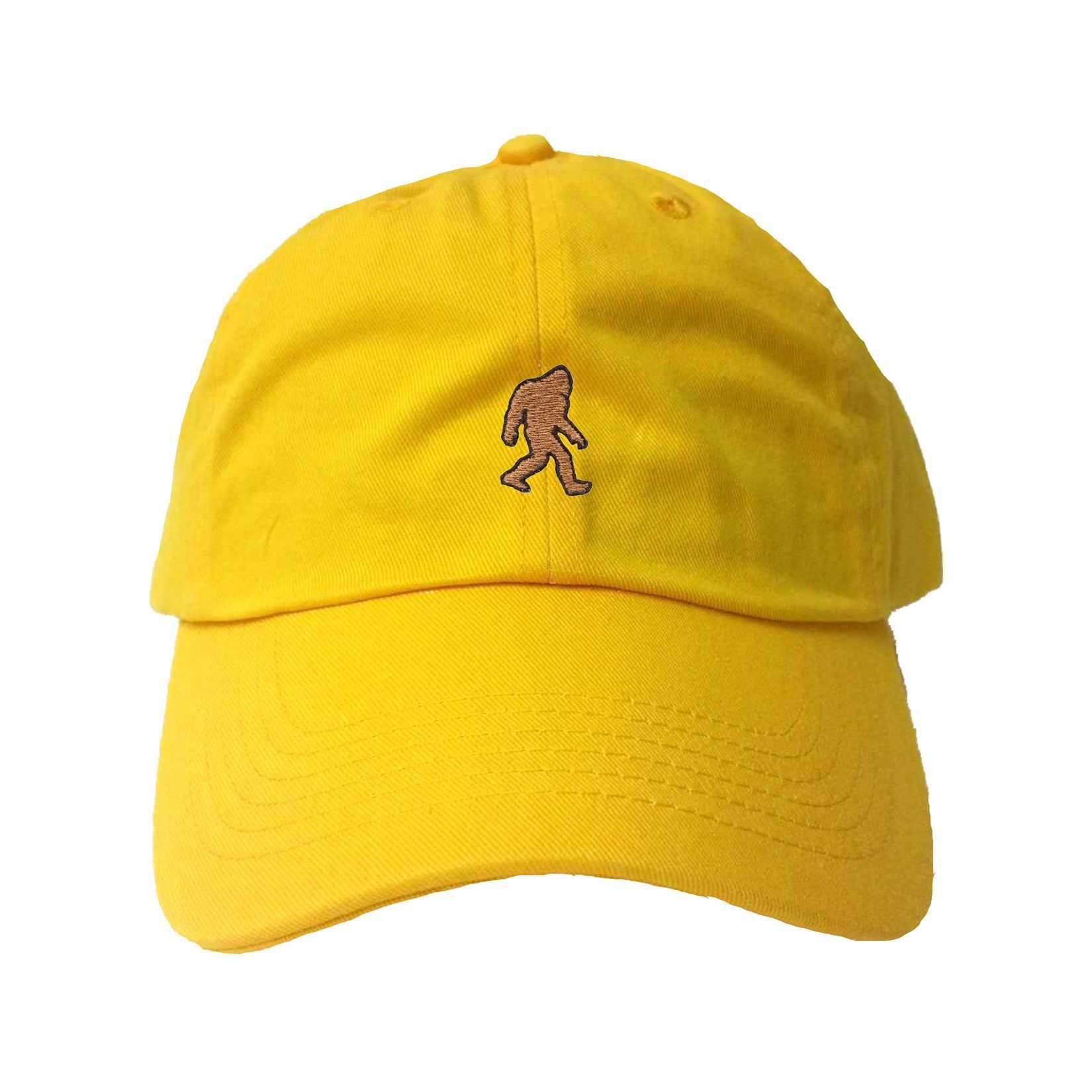 02b0908712b ... Squatch King Threads. Adult Bigfoot Sasquatch Embroidered Dad Hat Cap