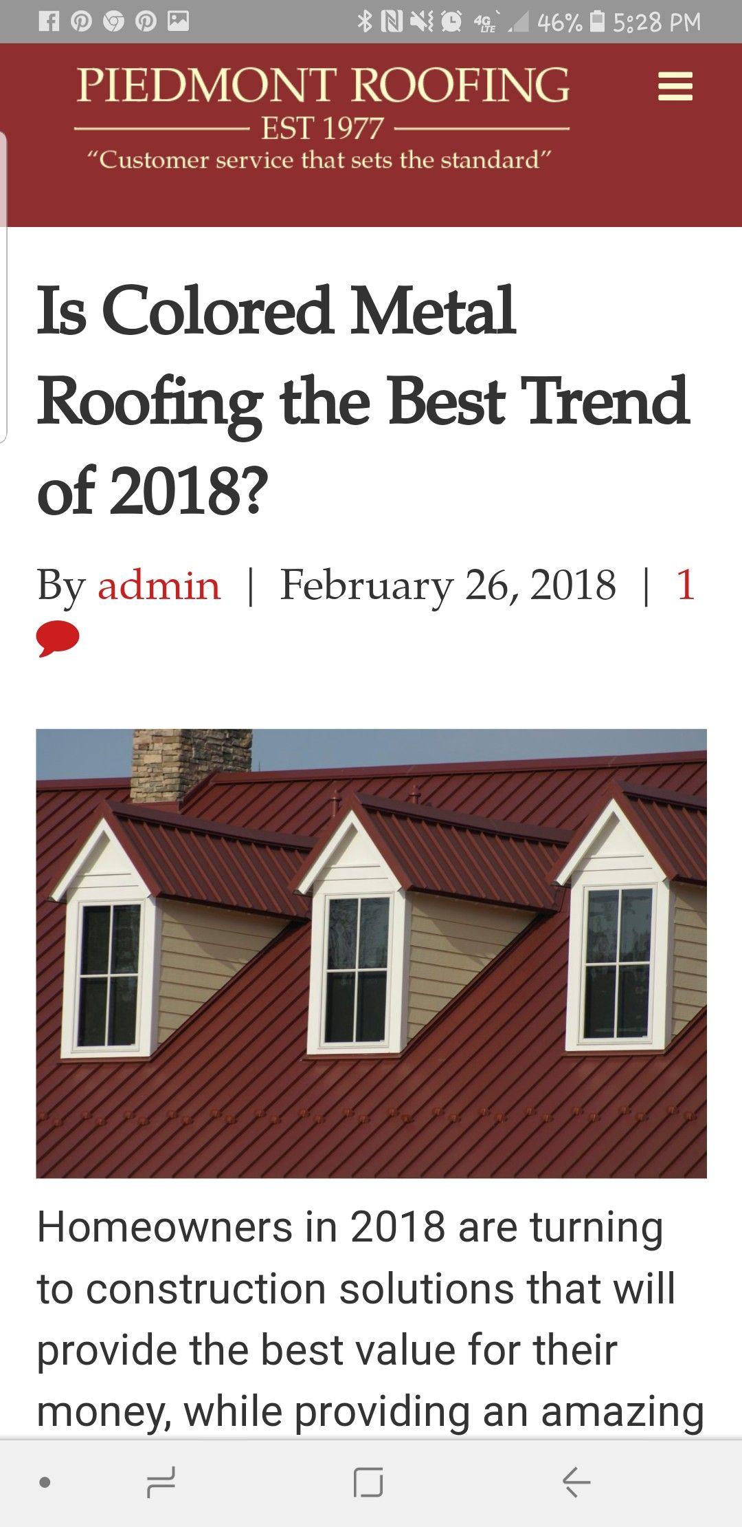 Standing Seam Metal Roof An Increasingly Popular Choice Aluminum Roof Standing Seam Metal Roof Corrugated Metal Roof
