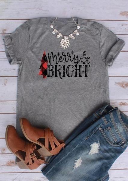 1cfd2c0e8 Merry & Bright Christmas Tee | christmas shirts | Fairy season ...
