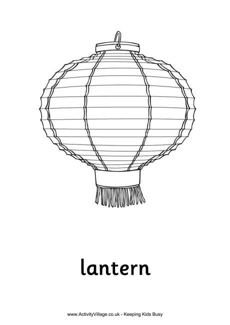 Chinese Lantern Colouring Page New Year Coloring Pages Chinese Flag