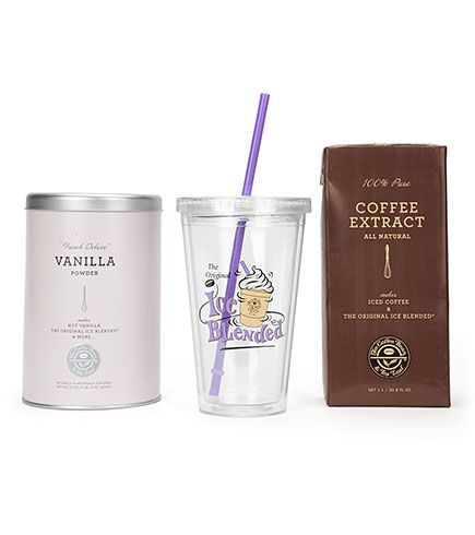 The Coffee Bean Tea Leaf Official Store Vanilla Ice Blended Drink Kit Vanilla Coffee Bean Essentials Gifts 6 Blended Drinks Drinking Kits Tea Leaves