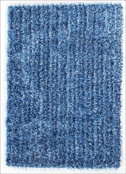 Our Barcelona Soft Shag Rug Light Blue Navy White Is A Classy Shaggy Rug  Featuring Thick