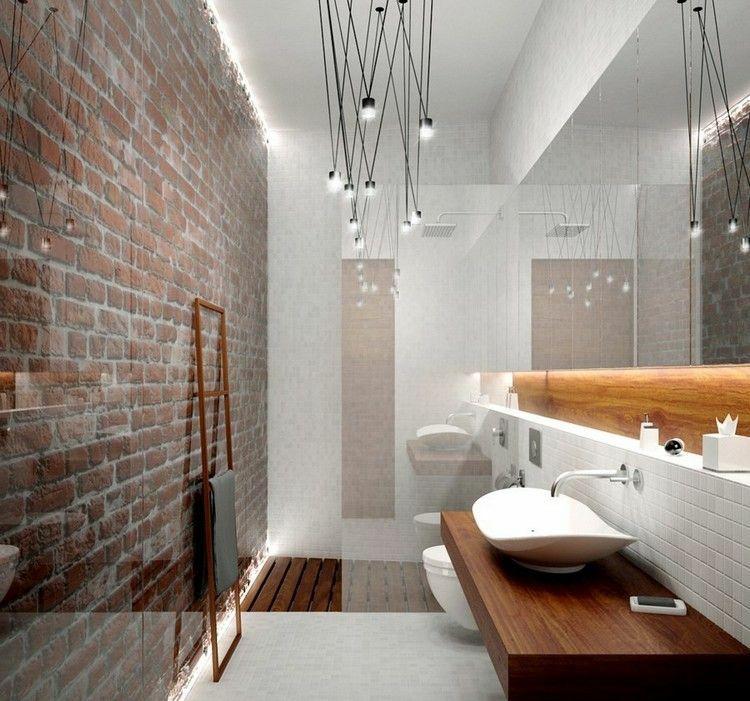 Ba o peque o con dise o moderno duchas y ba os for Bano pequeno moderno