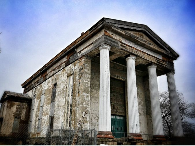 A New York state historic site in desperate need of TLC, the former Newburgh Dutch Reformed Church is an outstanding example of Greek Revival style. The church, designed by famed American architect Alexander Jackson Davis, was built in 1838 on a hill overlooking the Hudson River.