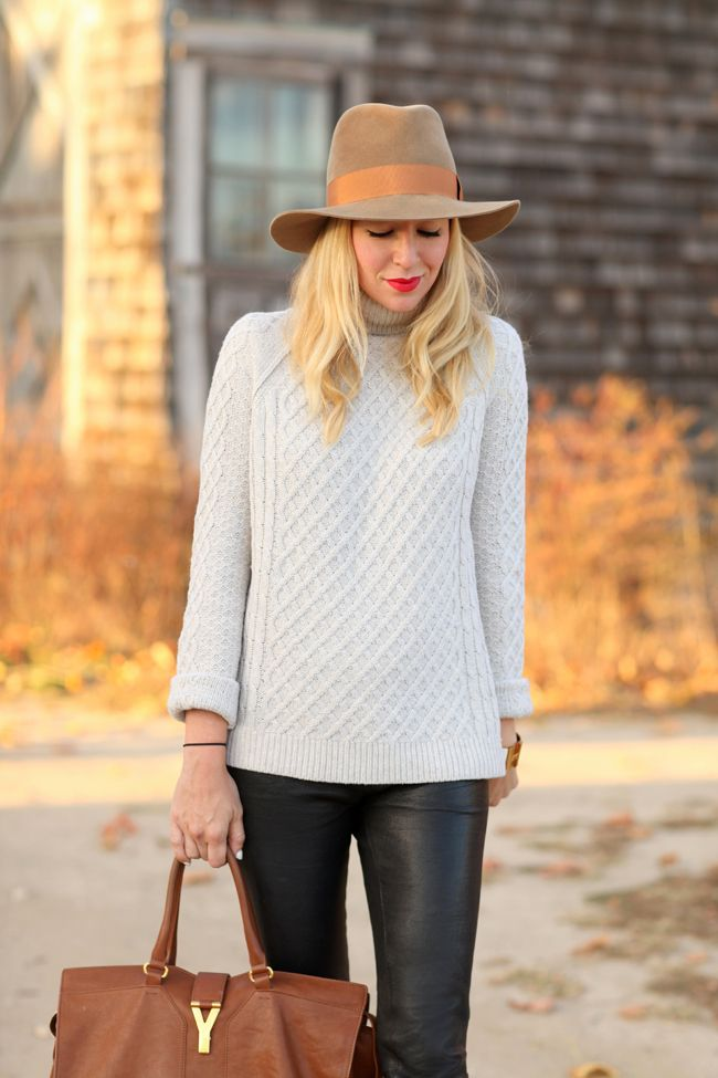 Knits & Leather (Brooklyn Blonde)