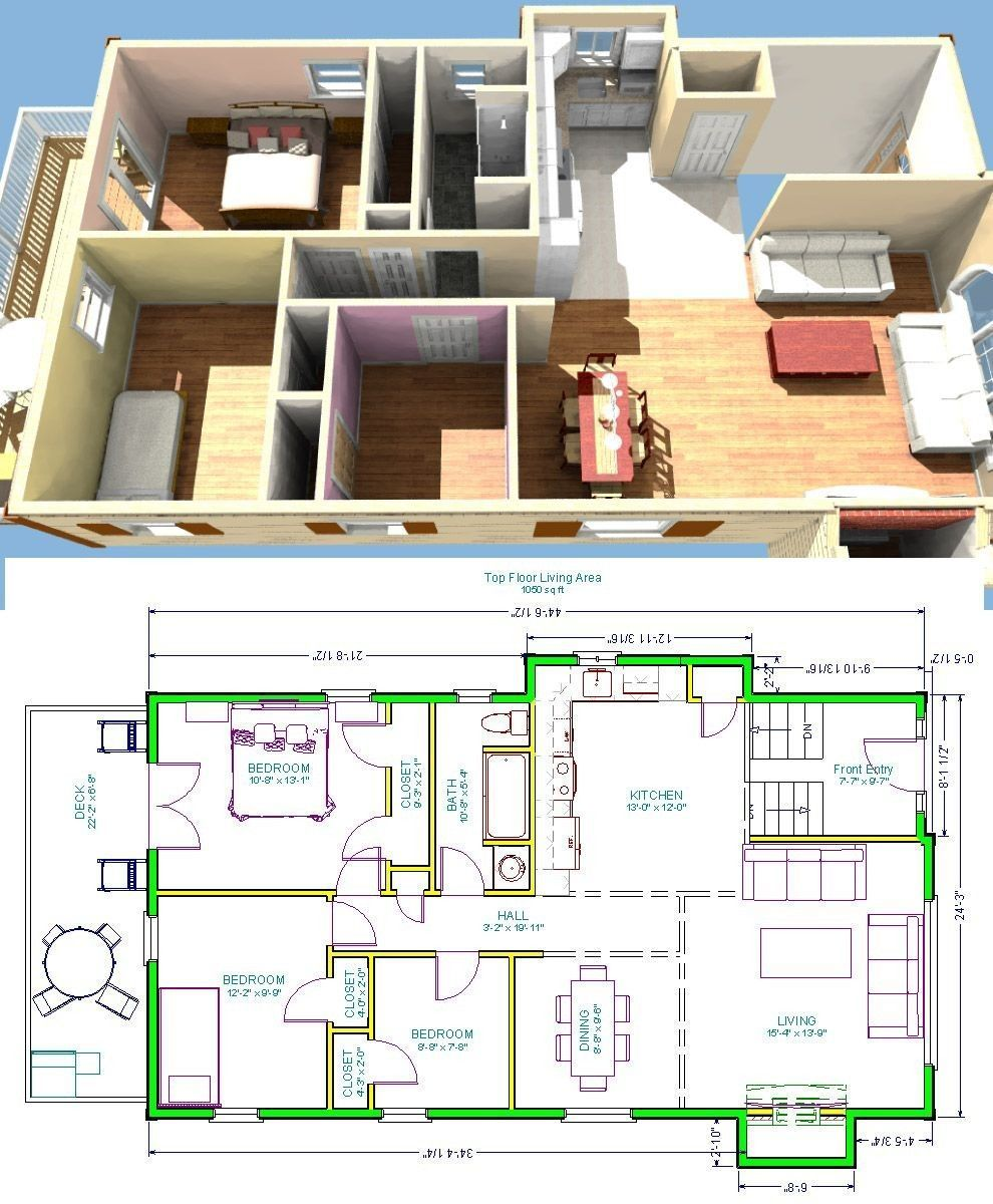 20 3 Bedroom Ranch House Plans With Walkout Basement Best Raised Ranch House Plans Bi Level R In 2020 Ranch House Plans Ranch House Floor Plans Ranch House Designs