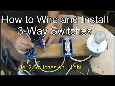 how to wire and install 3 way switches e tips pinterest wirehow to wire and install 3 way switches
