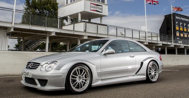2005 Mercedes Benz Clk Dtm Amg Coupe Chassis No Wdb2093421f14803