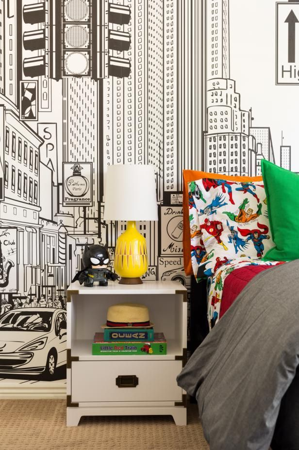 Best Ka Pow This Superhero Themed Room Will Knock Your Socks 640 x 480