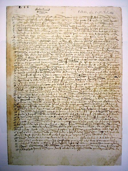 Christopher Columbus Letter To King Ferdinand.Pin On Infamous Inscription