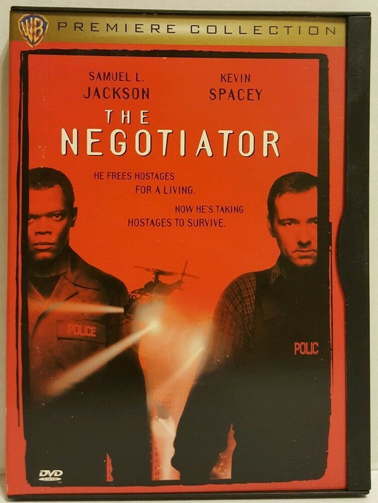 674ac63f9f6f The Negotiator (DVD, 1998) WB Premiere Collection Samuel L. Jackson Kevin  Spacey #WarnerBrothersRegency